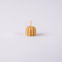 Beeswax Candle waterlily/teardrop